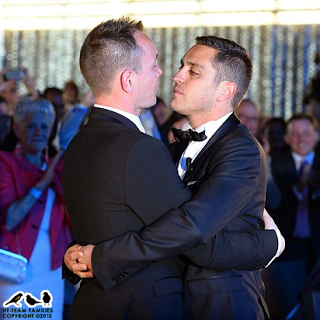 First Gay Wedding Ceremony in France