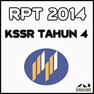 Lesson Plan / RPT 2014 KSSR Tahun 4