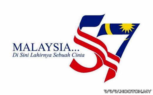 Lagu Hari Kemerdekaan 57  Tema Di Sini Lahirnya Sebuah Cinta dan Logo Hari Kebangsaan 2014