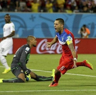 Gol Terpantas World Cup 2014 Saat ke 30 Clint Dempsey