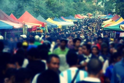 Cara Atasi Kesesakan di Pasar Ramadhan