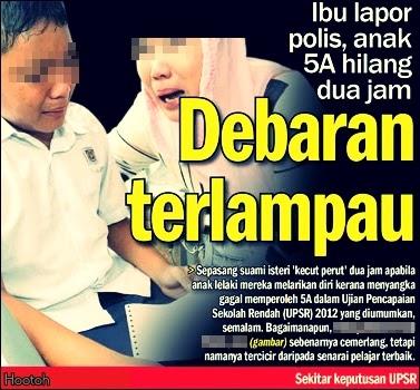 Tarikh Keputusan UPSR 2014 Seluruh Malaysia