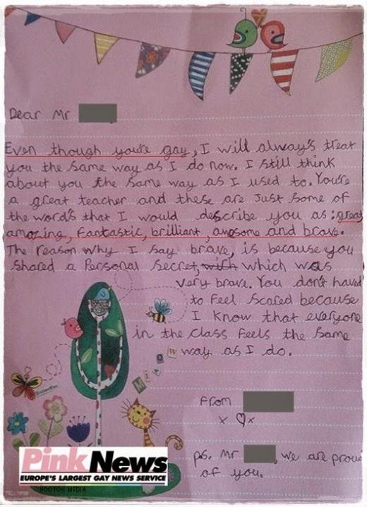 Surat Murid 9 Tahun kepada Guru yang Luar Biasa