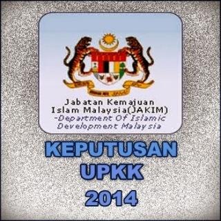 Keputusan Peperiksaan UPKK 2014